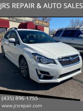 2016 Subaru Impreza for sale at JRS REPAIR & AUTO SALES in Richfield UT