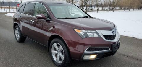 2010 Acura MDX for sale at Village Car Company in Hinesburg VT