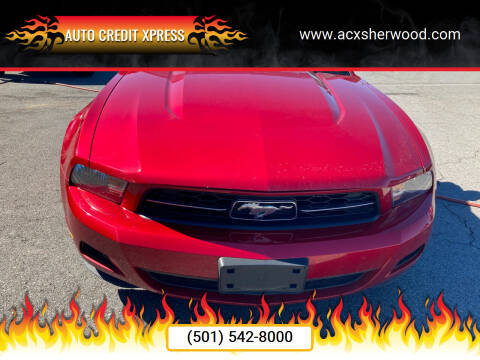 2010 Ford Mustang for sale at Auto Credit Xpress in North Little Rock AR