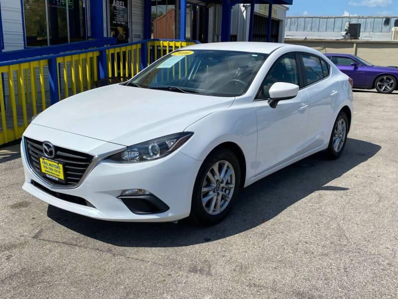 2016 Mazda MAZDA3 for sale at Abel Motors, Inc. in Conroe TX