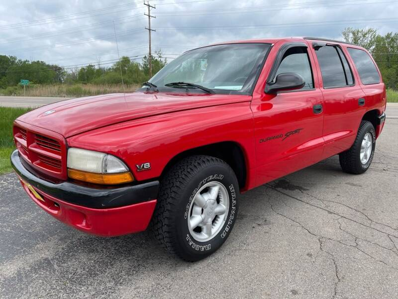 2000 Dodge Durango for sale at Sunshine Auto Sales in Menasha WI