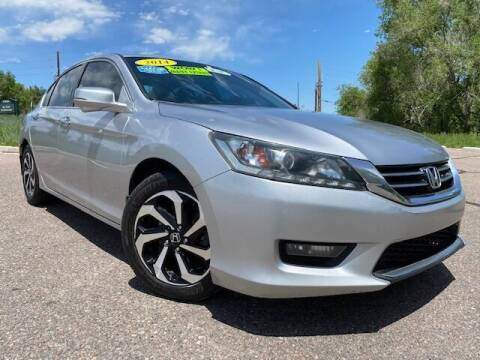 2014 Honda Accord for sale at UNITED Automotive in Denver CO