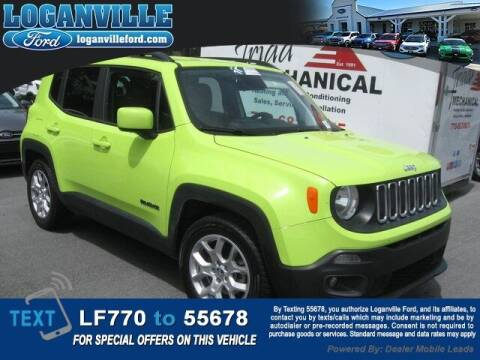 2018 Jeep Renegade for sale at Loganville Quick Lane and Tire Center in Loganville GA