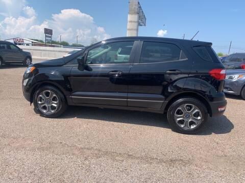 2018 Ford EcoSport for sale at Primetime Auto in Corpus Christi TX