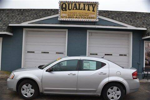 2008 Dodge Avenger for sale at Quality Pre-Owned Automotive in Cuba MO