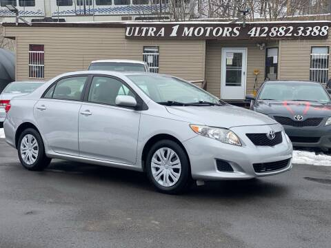 2009 Toyota Corolla for sale at Ultra 1 Motors in Pittsburgh PA