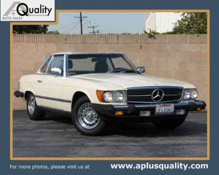 1983 Mercedes-Benz 380-Class for sale at A Quality Auto Sales in Huntington Beach CA