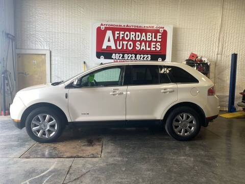 2008 Lincoln MKX for sale at Affordable Auto Sales in Humphrey NE