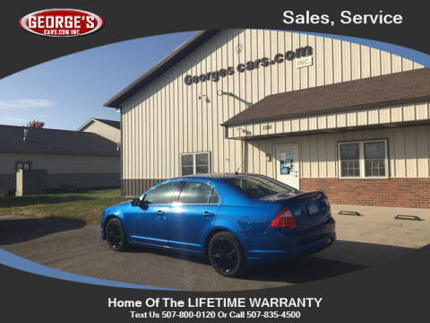 2011 Ford Fusion for sale at GEORGE'S CARS.COM INC in Waseca MN