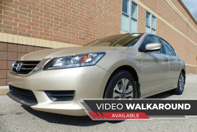 2015 Honda Accord for sale at Macomb Automotive Group in New Haven MI