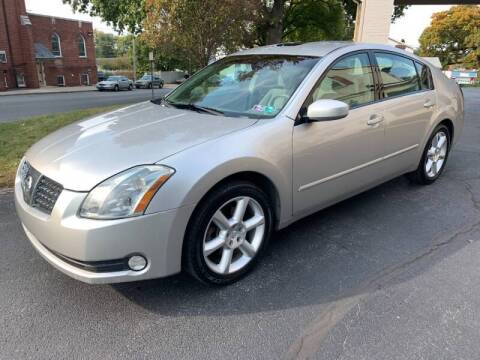 2004 Nissan Maxima for sale at On The Circuit Cars & Trucks in York PA
