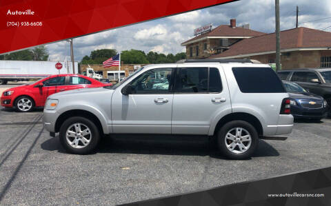 2009 Ford Explorer for sale at Autoville in Kannapolis NC