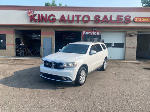 2015 Dodge Durango for sale at KING AUTO SALES  II in Detroit MI