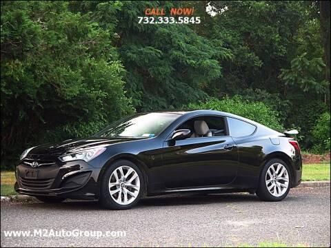 2013 Hyundai Genesis Coupe for sale at M2 Auto Group Llc. EAST BRUNSWICK in East Brunswick NJ