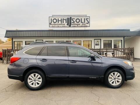 2015 Subaru Outback for sale at John Solis Automotive Village in Idaho Falls ID