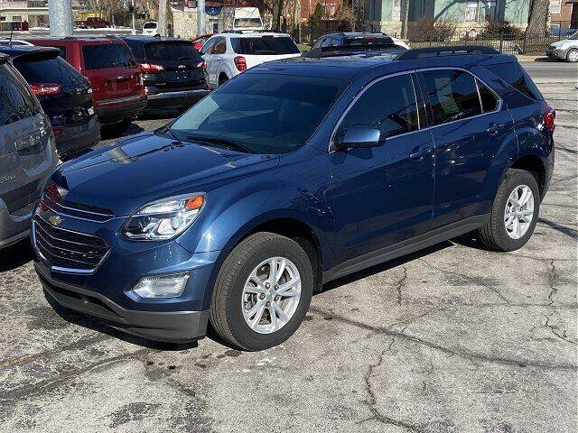 2017 Chevrolet Equinox for sale at Sunshine Auto Sales in Huntington IN