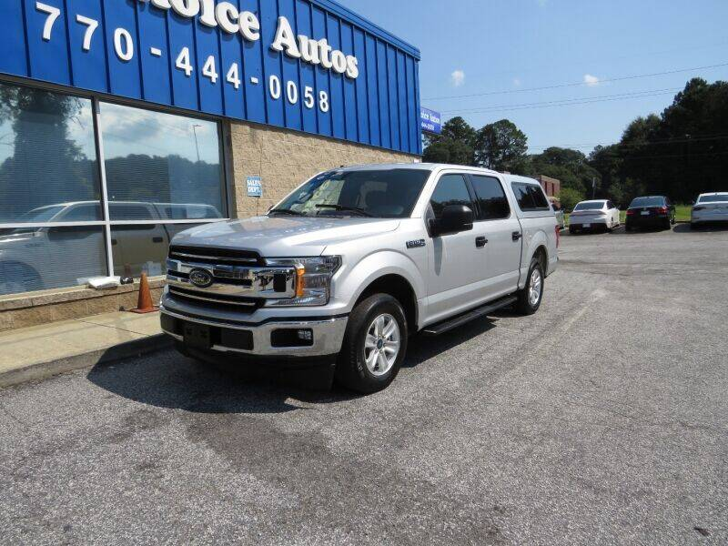 2018 Ford F-150 for sale at Southern Auto Solutions - 1st Choice Autos in Marietta GA