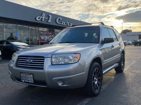 2007 Subaru Forester for sale at A1 Carz, Inc in Sacramento CA