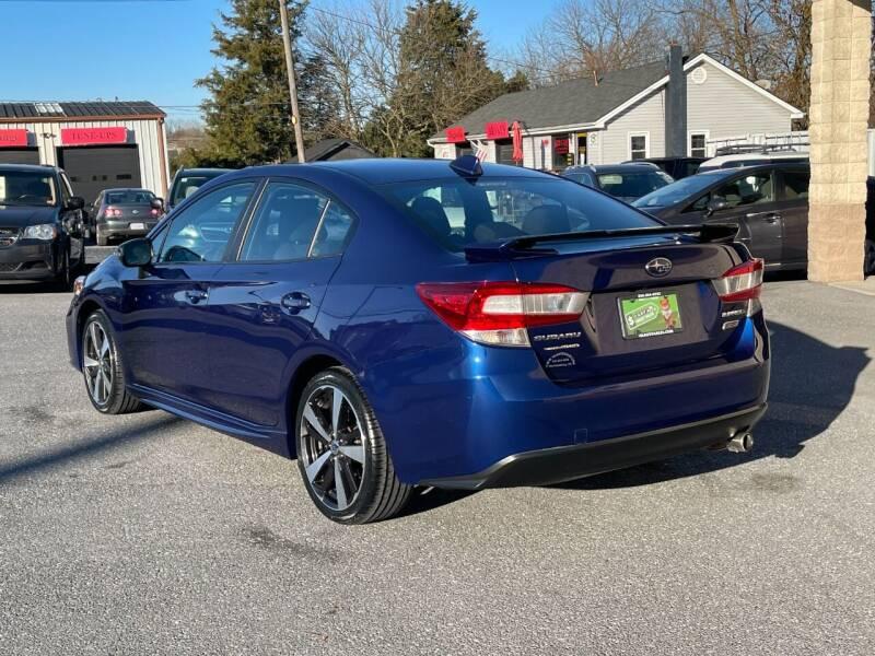 2018 Subaru Impreza AWD 2.0i Sport 4dr Sedan CVT - Harrisonburg VA