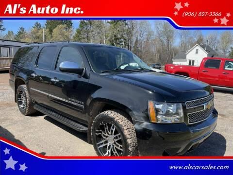 2011 Chevrolet Suburban for sale at Al's Auto Inc. in Bruce Crossing MI