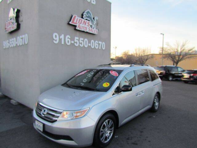 2011 Honda Odyssey for sale at LIONS AUTO SALES in Sacramento CA