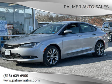 2015 Chrysler 200 for sale at Palmer Auto Sales in Menands NY