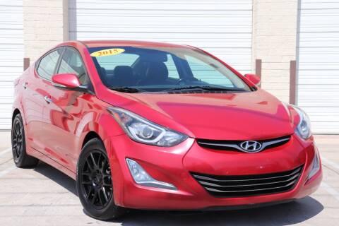 2015 Hyundai Elantra for sale at MG Motors in Tucson AZ