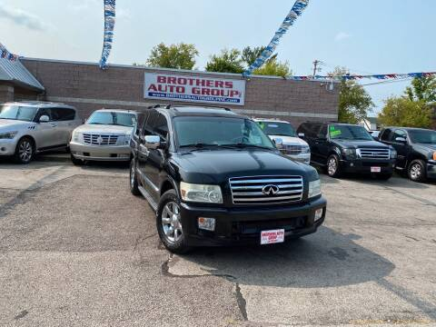 2006 Infiniti QX56 for sale at Brothers Auto Group in Youngstown OH