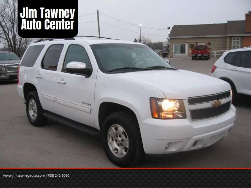 2012 Chevrolet Tahoe for sale at Jim Tawney Auto Center Inc in Ottawa KS