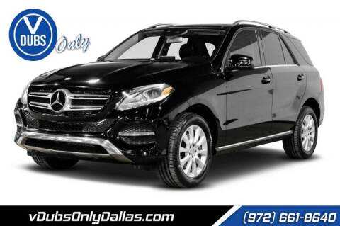 2016 Mercedes-Benz GLE for sale at VDUBS ONLY in Dallas TX