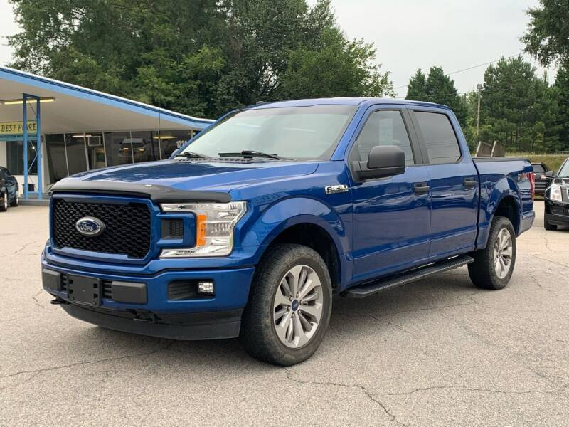 2018 Ford F-150 for sale at GR Motor Company in Garner NC