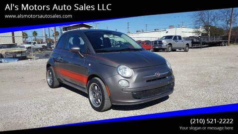 2013 FIAT 500 for sale at Al's Motors Auto Sales LLC in San Antonio TX