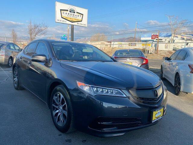 2015 Acura TLX for sale at CarSmart Auto Group in Murray UT