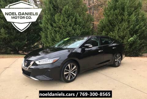 2019 Nissan Maxima for sale at Noel Daniels Motor Company in Brandon MS