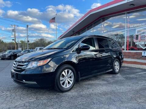 2015 Honda Odyssey for sale at USA Motor Sport inc in Marlborough MA