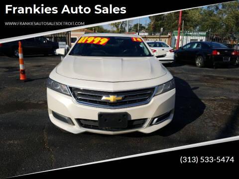 2014 Chevrolet Impala for sale at Frankies Auto Sales in Detroit MI