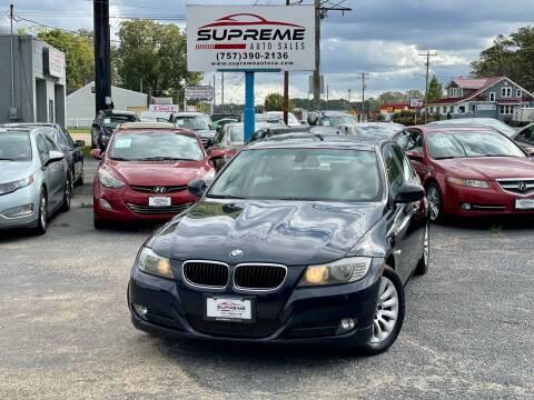 2009 BMW 3 Series for sale at Supreme Auto Sales in Chesapeake VA