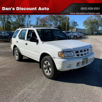 2000 Isuzu Rodeo for sale at Dan's Discount Auto in Gaston SC