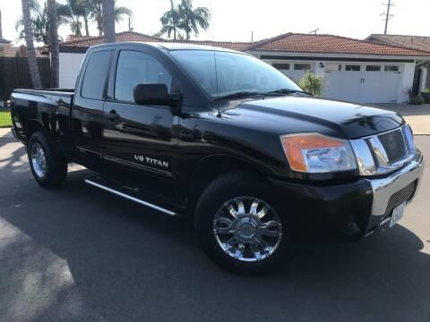 2008 Nissan Titan for sale at SoCal Motors in Los Alamitos CA