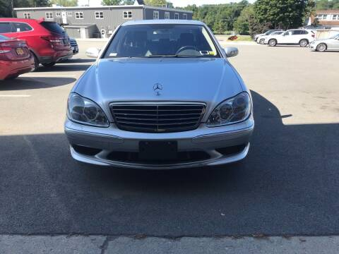 2005 Mercedes-Benz S-Class for sale at BEACH AUTO GROUP INC in Fishkill NY