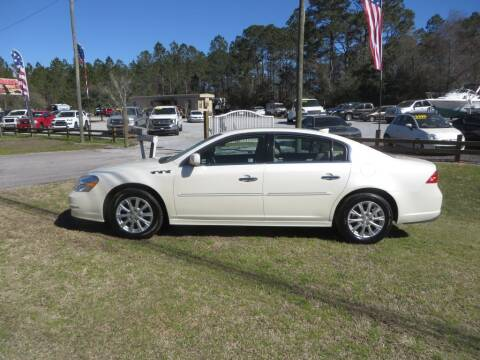 2010 Buick Lucerne for sale at Ward's Motorsports in Pensacola FL