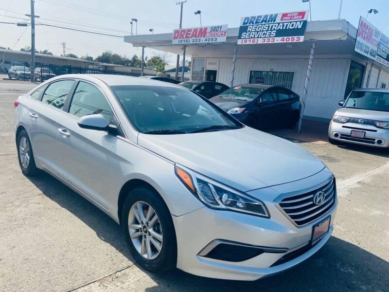 2017 Hyundai Sonata for sale at Dream Motors in Sacramento CA