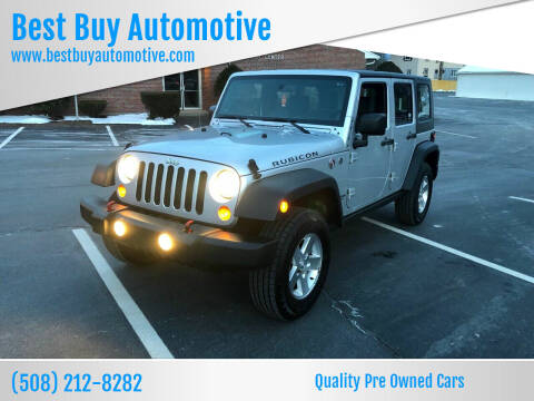 2007 Jeep Wrangler Unlimited for sale at Best Buy Automotive in Attleboro MA