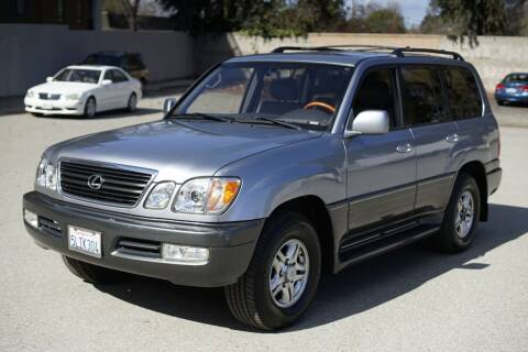 2001 Lexus LX 470 for sale at Sports Plus Motor Group LLC in Sunnyvale CA