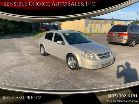 2009 Chevrolet Cobalt for sale at Sensible Choice Auto Sales, Inc. in Longwood FL
