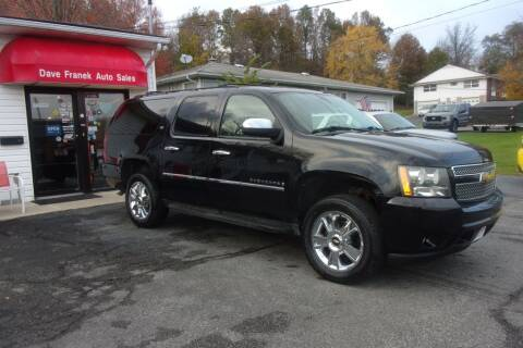 2009 Chevrolet Suburban for sale at Dave Franek Automotive in Wantage NJ