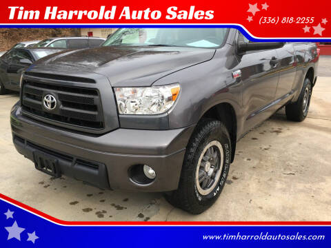 2011 Toyota Tundra for sale at Tim Harrold Auto Sales in Wilkesboro NC
