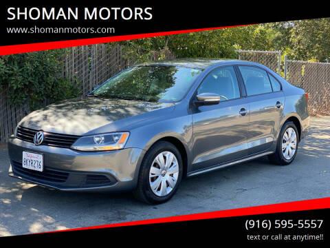 2011 Volkswagen Jetta for sale at SHOMAN MOTORS in Davis CA