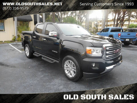 2015 GMC Canyon for sale at OLD SOUTH SALES in Vero Beach FL