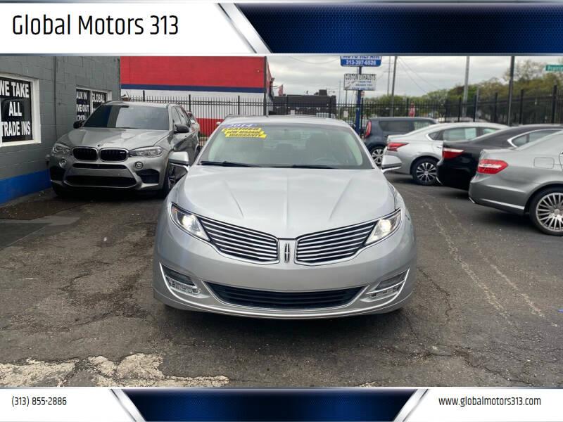 2014 Lincoln MKZ for sale at Global Motors 313 in Detroit MI